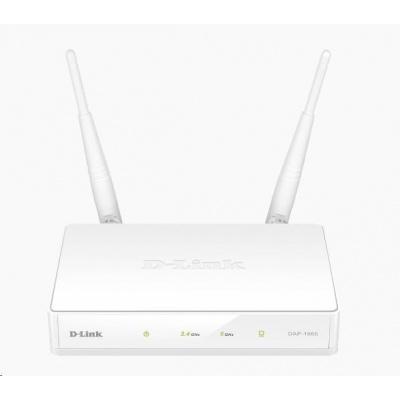 D-Link DAP-1665 Wireless AC1200 Dual Band Access Point, 1x gigabit RJ45