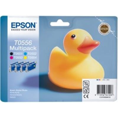 EPSON ink čer+bar Stylus Photo R240/R245/RX420/425/RX520 - CMYK multipack