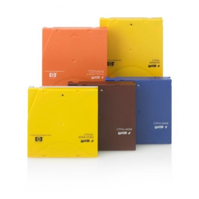 HP LTO-6 Ultrium 6,25 TB Custom Label, 20-pack, C7976AL