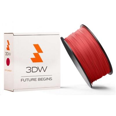 3DW ARMOR - PLA filament, průměr 1,75mm, 500g, červená, teplota tisku 190-210°C