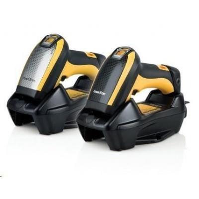 Datalogic PM9100, 1D, multi-IF, kit (USB), RB, black, žlutá
