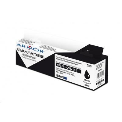 ARMOR cartridge pro HP OJ Pro X 451 černá, 80 ml, komp.s CN621AE