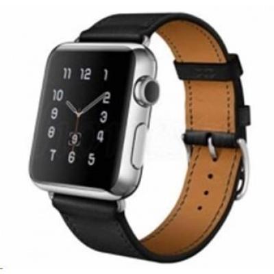 eses kožený řemínek 38mm černý pro apple watch