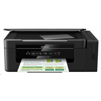 EPSON tiskárna ink L3050, 3in1, CIS, A4, 33ppm black, 4ink, USB, Wi-Fi, Eco tank