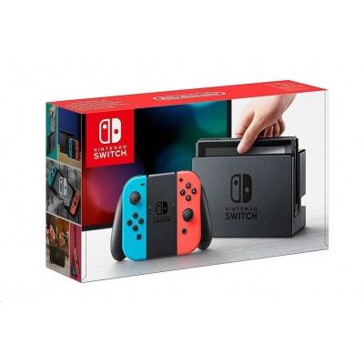 Nintendo Switch Neon Red&Blue Joy-Con