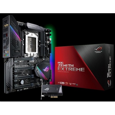 ASUS MB Sc TR4 ROG ZENITH EXTREME, AMD X399, 8xDDR4, Wi-Fi, E-ATX