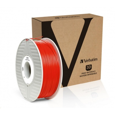 VERBATIM 3D Printer Filament ABS 1,75mm 1kg red
