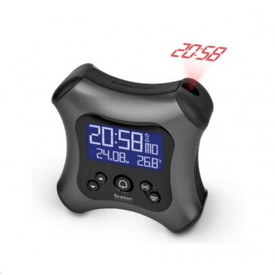 Oregon RM330PG - digitální budík s projekcí času