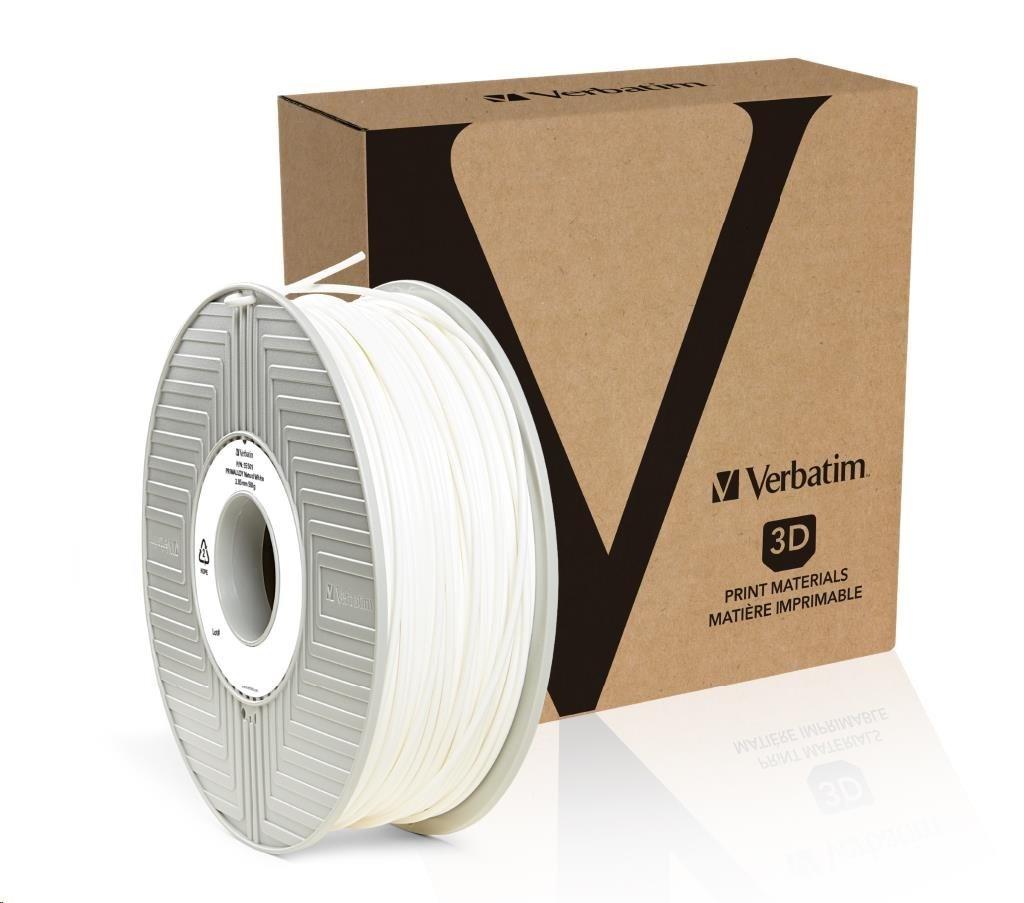 VERBATIM 3D Printer Filament PRIMALLOY 2,85mm 500g white