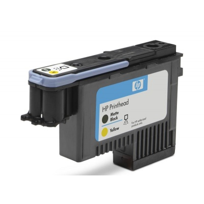 HP 72 Black matte + Yellow DJ Printhead, C9384A
