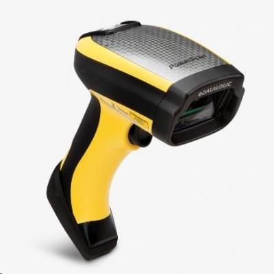 Datalogic PowerScan PD9531-DPM, 2D, HD, DPM, multi-IF, kit (RS232), black, žlutá