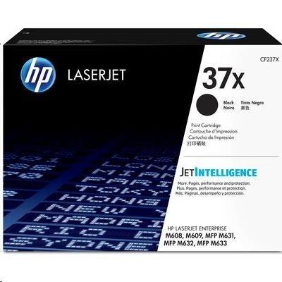 HP 37X High Yield Black Original LaserJet Toner Cartridge (CF237X)