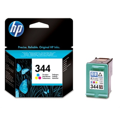 HP 344 Tri-color Ink Cart, 14 ml, C9363EE