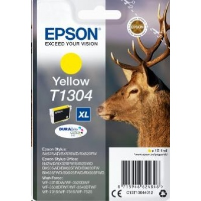 "EPSON ink bar Singlepack ""Jelen"" Yellow T1304 DURABrite Ultra Ink (10,1 ml)"