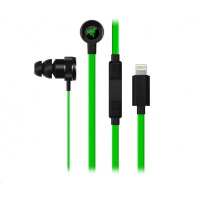 RAZER sluchátka HAMMERHEAD for iOS Digital Gaming & Music In-Ear Headset