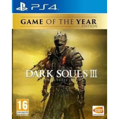 PS4 hra Dark Souls 3: The Fire Fades Edition (Goty)