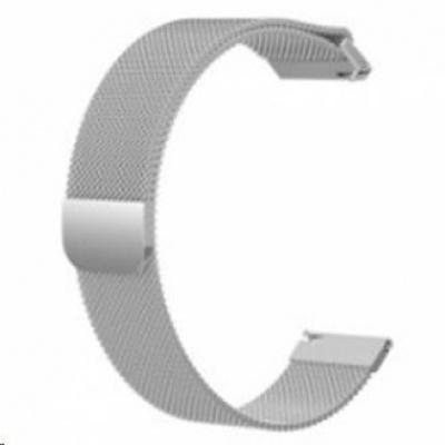 eses milánský tah stříbrný pro samsung galaxy watch 42mm/samusung gear sport/ garmin vivoactive 3