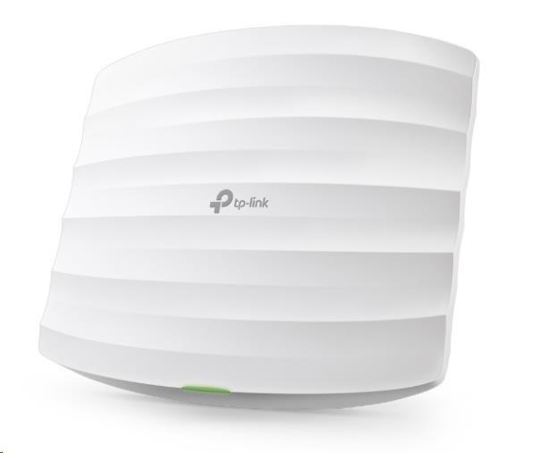 TP-Link Wireless AP, EAP110, 300Mbps 2.4Ghz, 802.11b/g/n, 1xLAN, PoE, montáž na strop/zeď