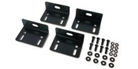 APC Bolt-down Bracket Kit, Black